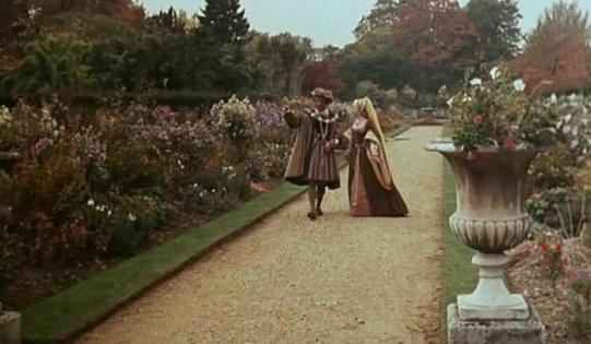 The Gardens at Pinewood Studios for Carry On Henry