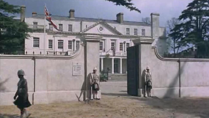 Heatherden Hall in Pinewood Studios for Carry On Up The Khyber