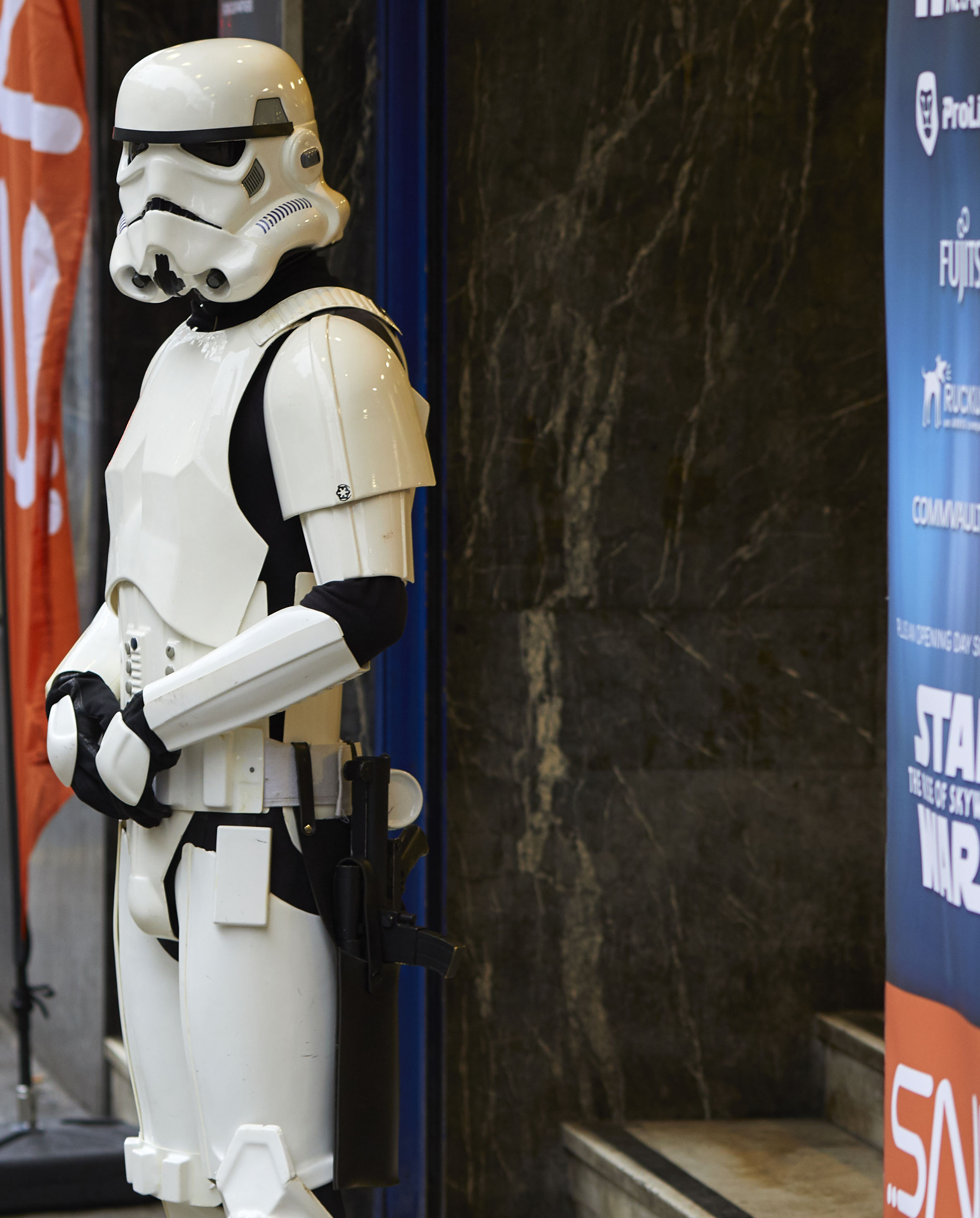 Stormtrooper at a SNS event