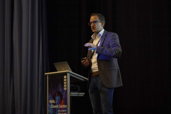 Robert Graf Managing Director of ProLion at a SNS Event
