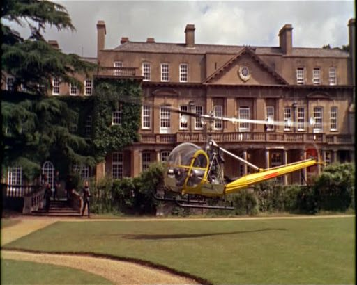 Heatherden Hall in Pinewood Studios for Spectre Island from Russia With Love