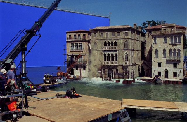Casino Royale Venice Set at Pinewood Studios